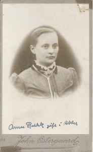 B18: Ane Marie Rahbek Ahler Østergaard (ca. 1892)